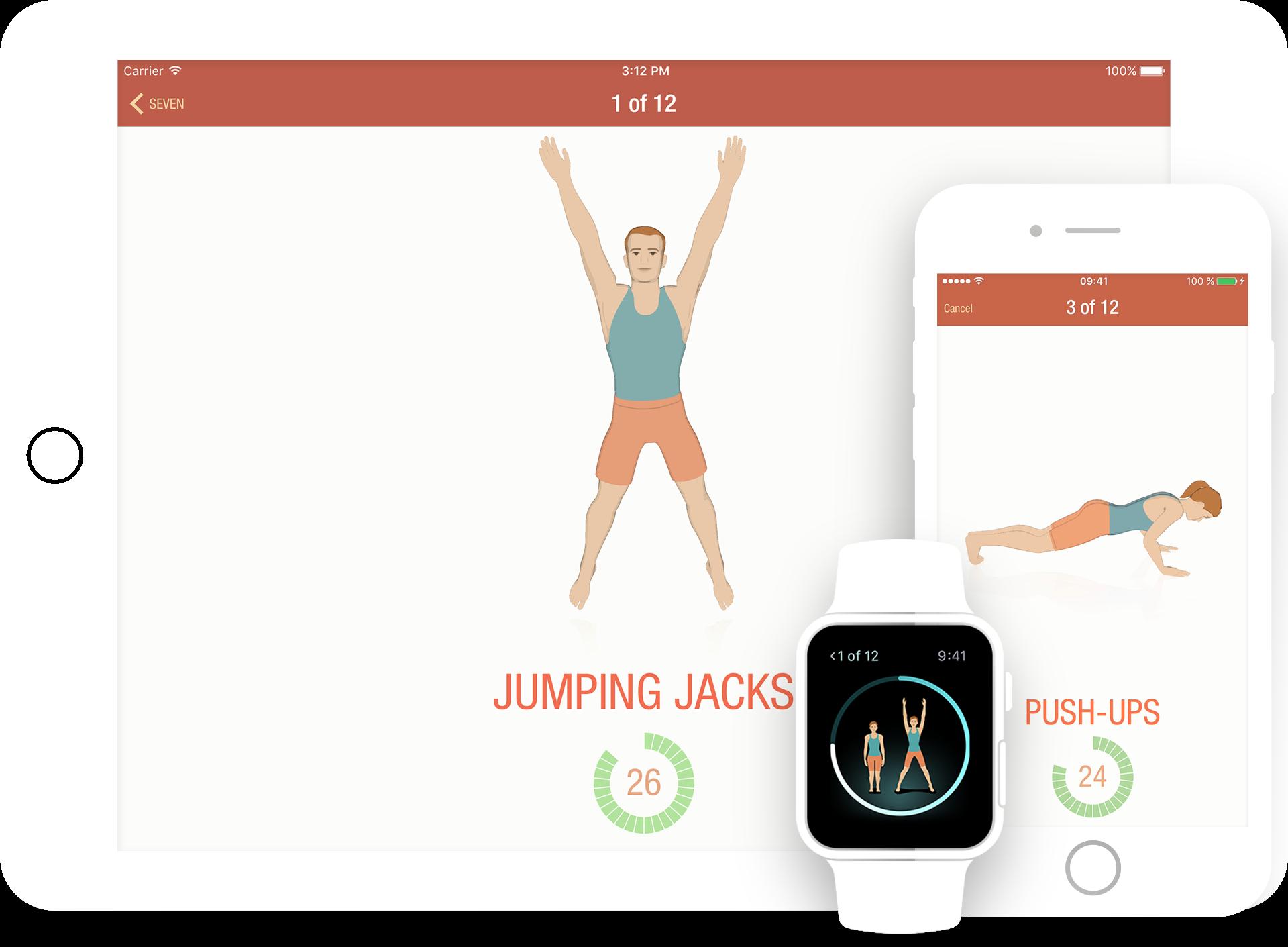 Seven – «7 minutes workout» pour se remettre en forme ?